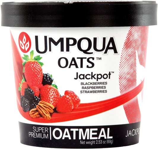 Umpqua Oats Jackpot All Natural Oatmeal 12 Pack Case