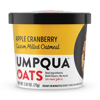 Umpqua Oats Apple Cranberry Cinnamon Mostly Sunny 8 Ct Case