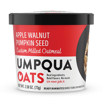 Umpqua Oats Apple Walnut Old School 8 Ct Case