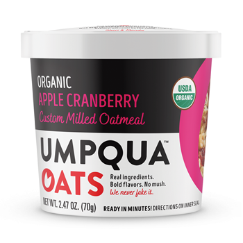 Umpqua Oats Organic Apple Cranberry Almond 8 Ct Case