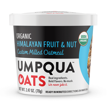Umpqua Oats Organic Himalayan Fruit & Nut 8 Ct Case
